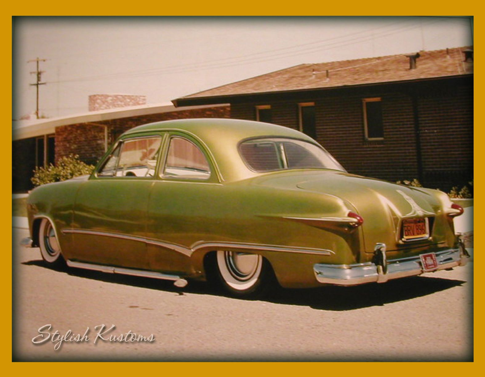 Leroy gualart s sweet shoebox ford later more kustom mods were done but this is my favorite version of this car