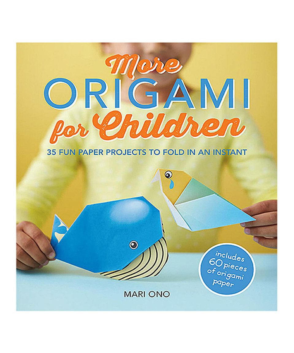 Look what I found on #zulily! More Origami for Children Paperback by Ryland Peters & Small #zulilyfinds