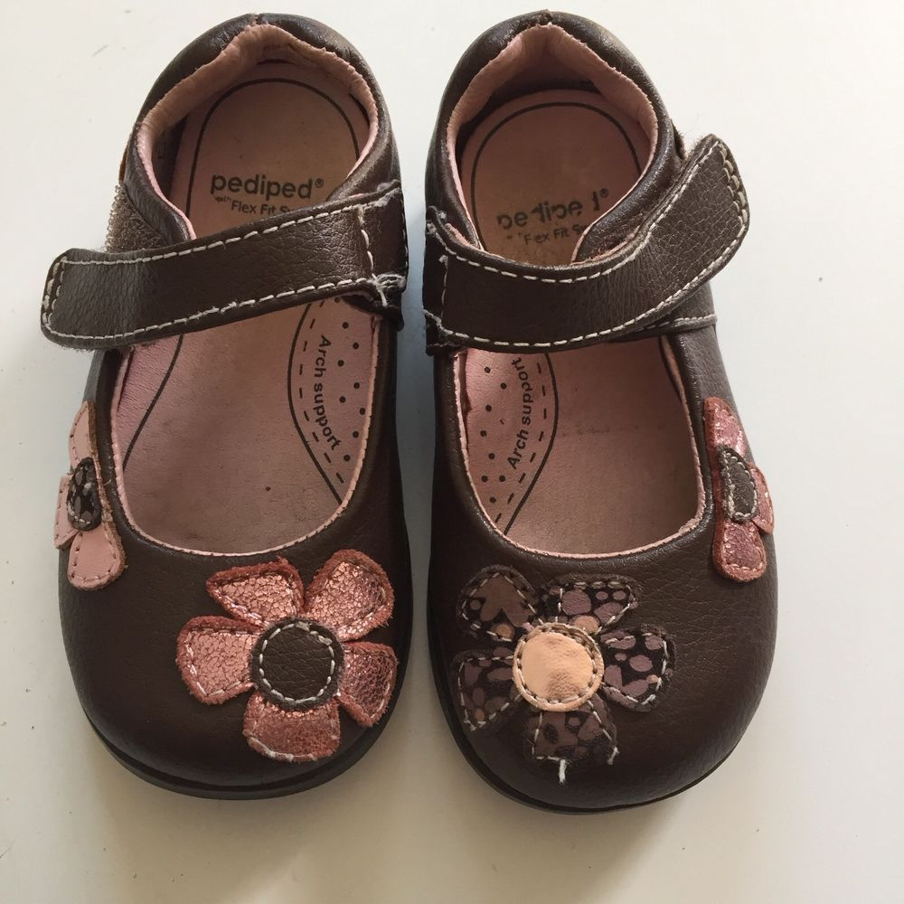PEDIPED TODDLERS FLEX ABIGAIL LEATHER MARY JANE BROWN PINK SIZE 5.5 GIRLS   fashion  clothing  shoes  accessories  babytoddlerclothing  babyshoes  (ebay link) e76787137a