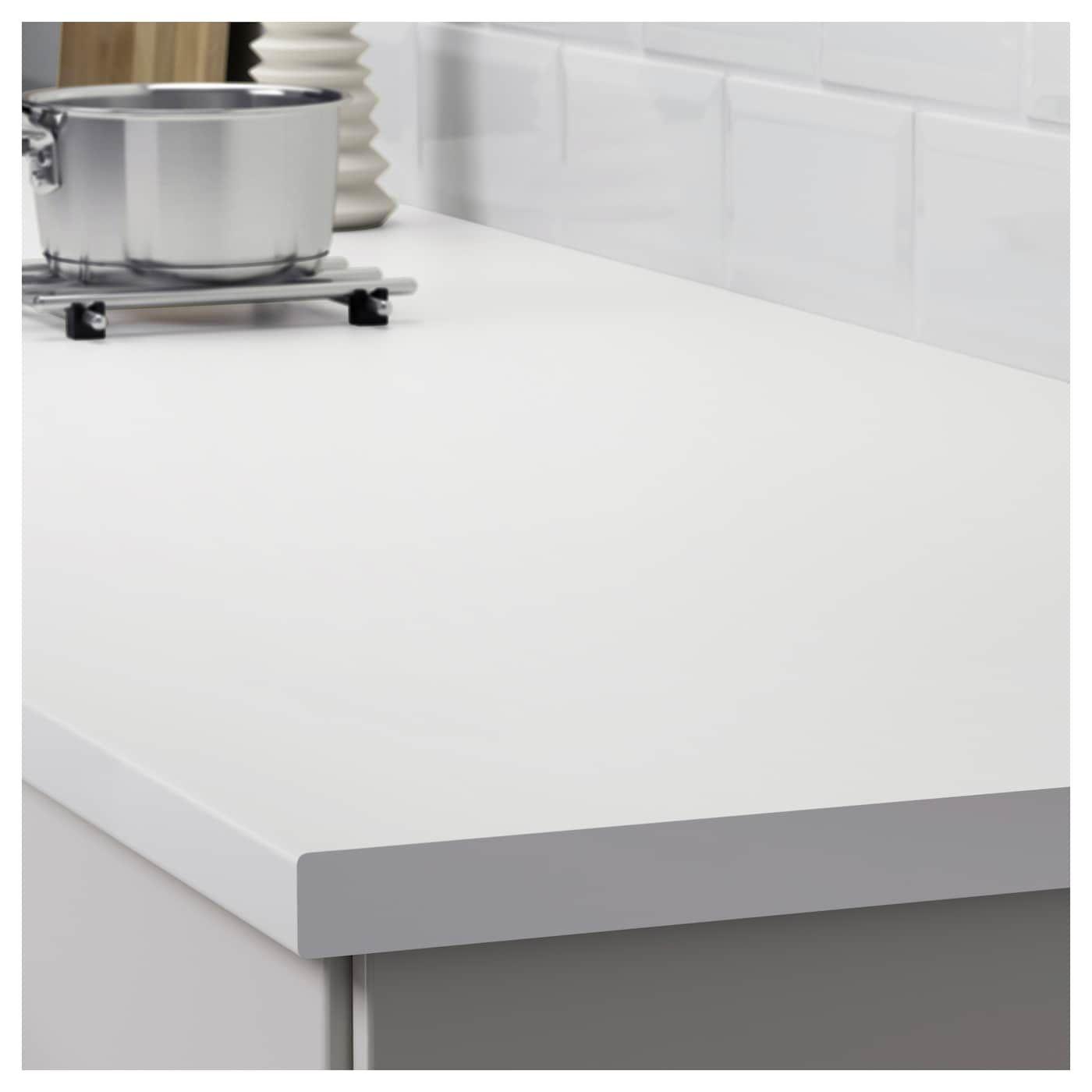 Lilltrask Bordplade Hvid Laminat 186x2 8 Cm Ikea White Laminate Countertops Laminate Countertops Countertops