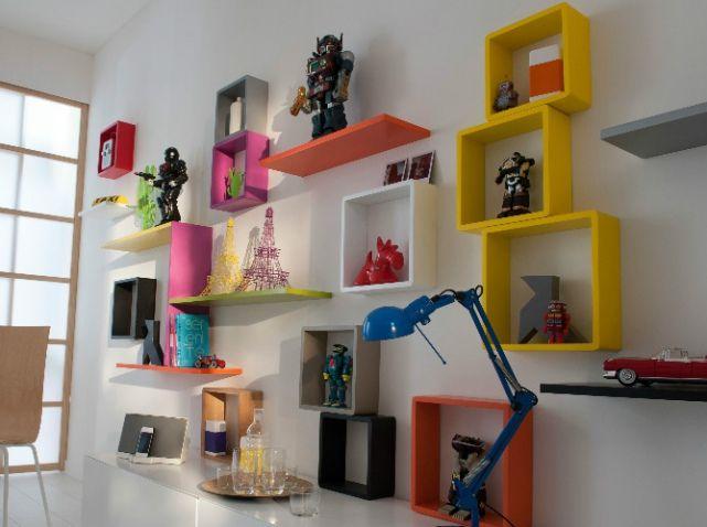 Rangement mural cubes castorama | Deco geek | Pinterest | Rangement ...