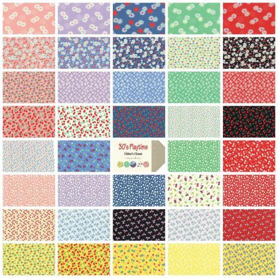 Jelly Roll - Moda 30's Playtime