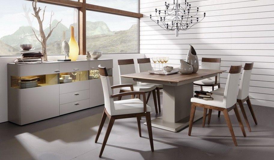 Edle Stühle edle esszimmer stühle gwinner mit akzenten aus astnussbaum
