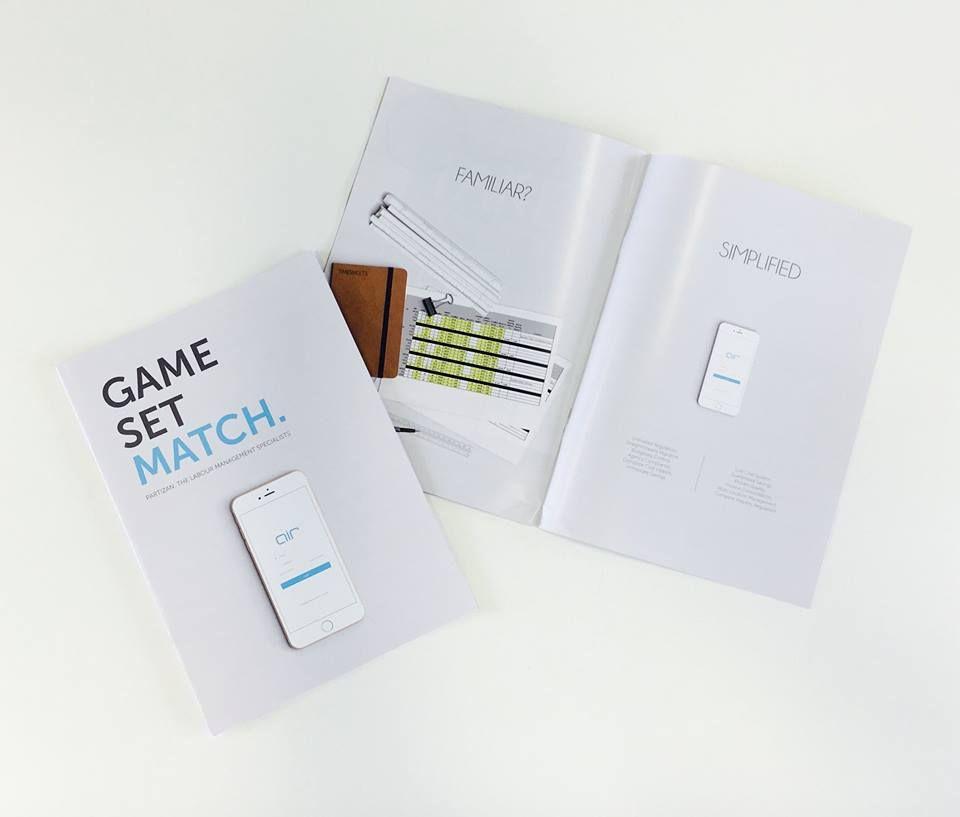 A Modern Sleek Brochure Made For A Client By Ouma The Marketing