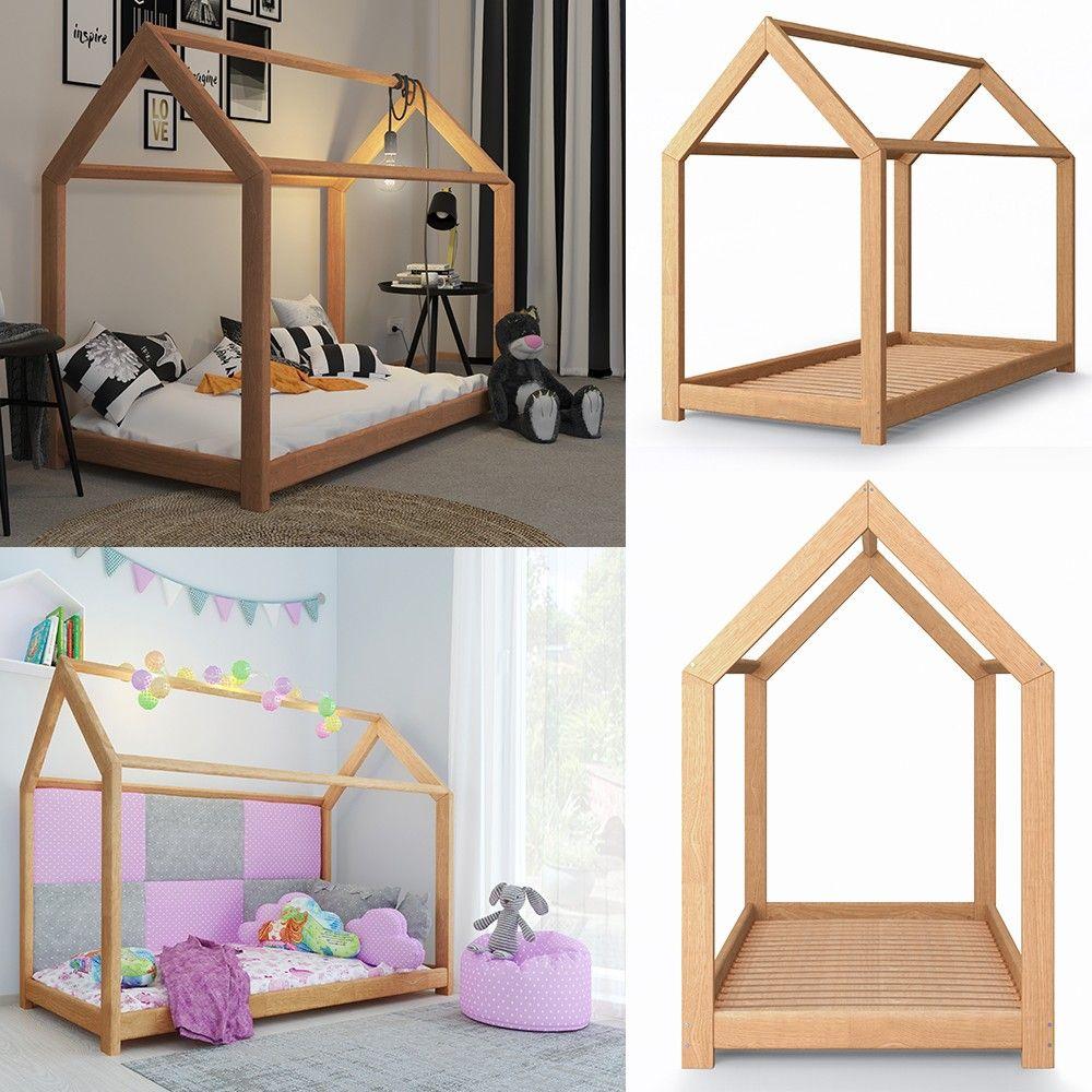 Vicco Vicco Kinderbett 90x200 Cm Kinderhaus Massivholz Bett
