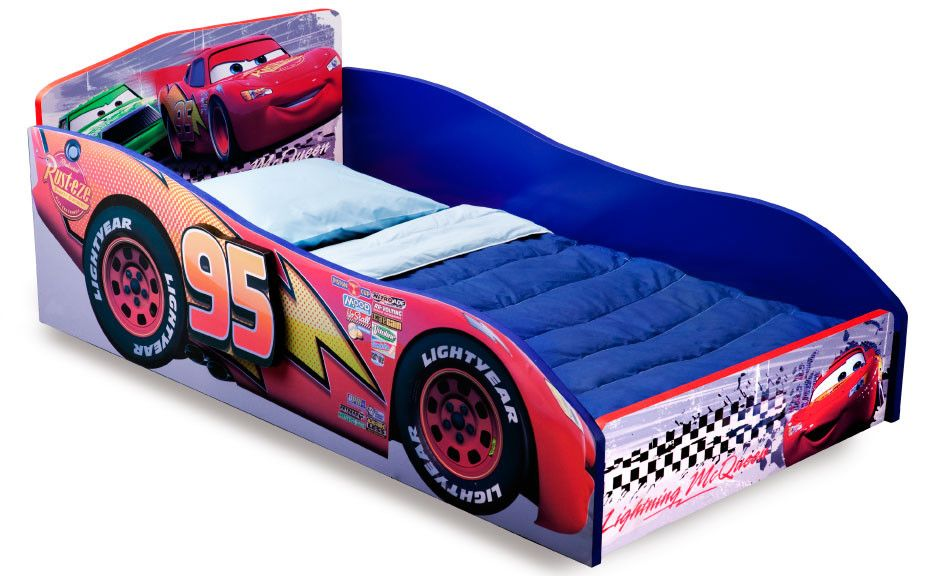Disney Pixar Cars Convertible Toddler Bed Wooden Toddler Bed