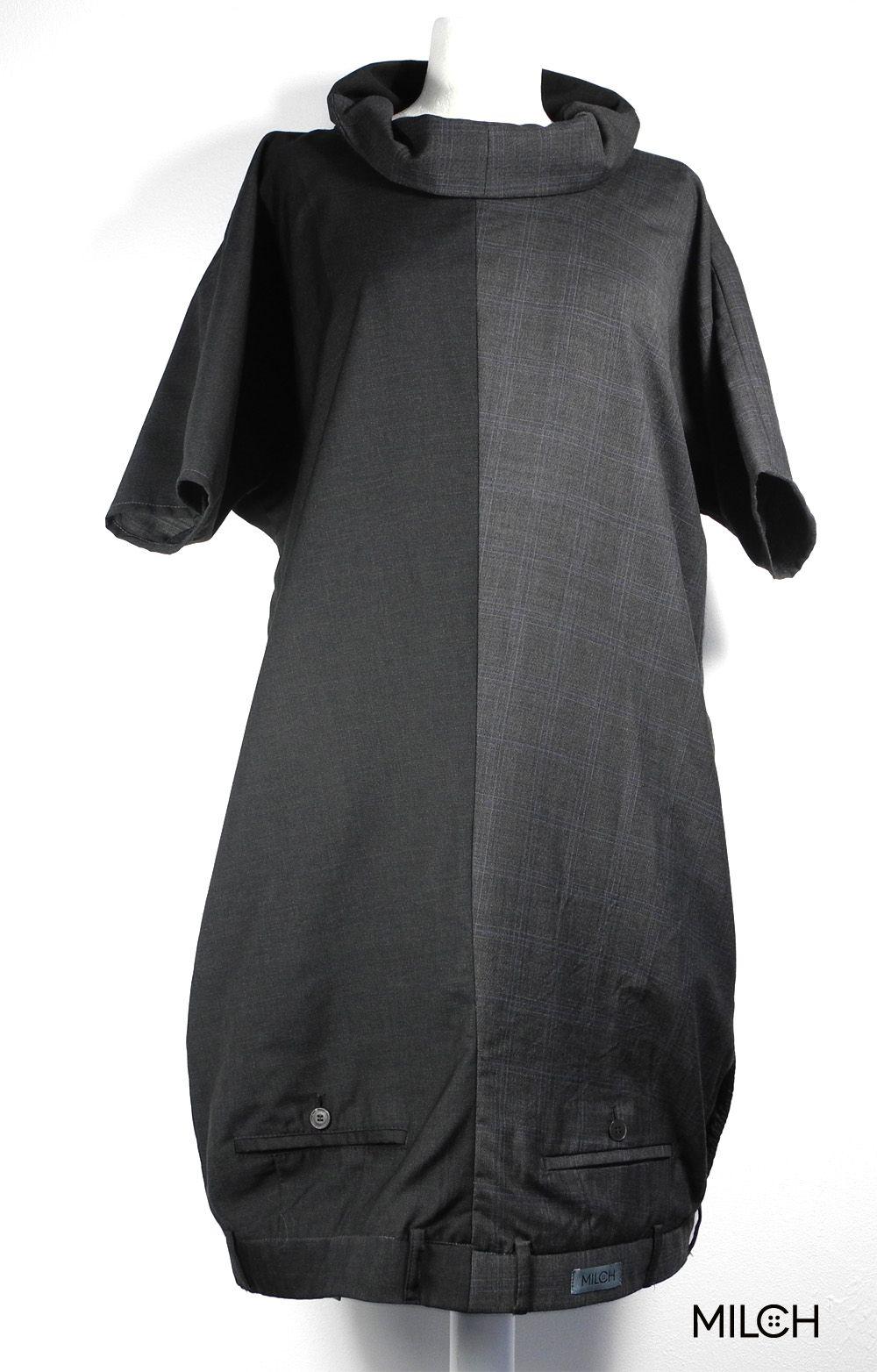ein kleid aus 2 hosen mit kragen und mit angeschnittenen. Black Bedroom Furniture Sets. Home Design Ideas