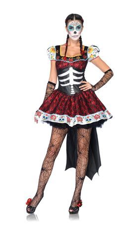 ffd2e8d5a33 tween day of the dead costume - Google Search | Halloween Costumes ...