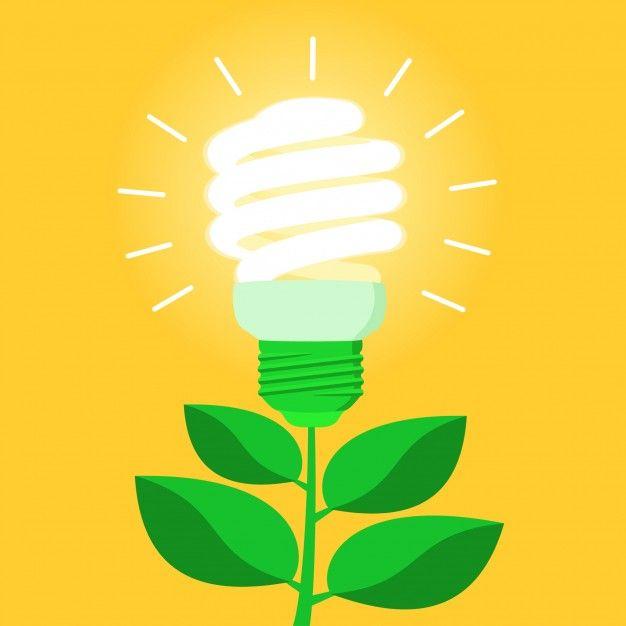 Descarga Gratis Bombilla De Bajo Consumo De Energia Verde Cfl Ahorro De Energia Energia Verde Consumo De Energia