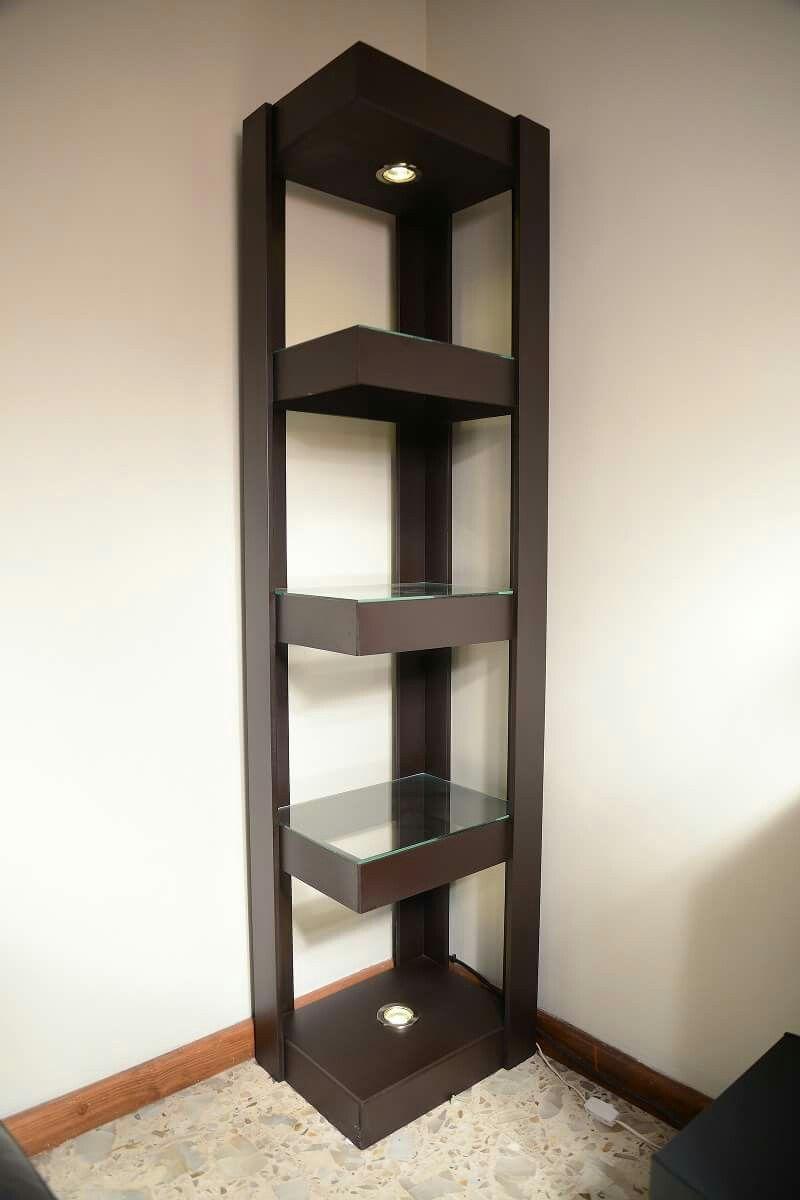Esquinero Almacenamiento Pinterest Esquineros Repisas Y  # Muebles Esquineros Para Sala