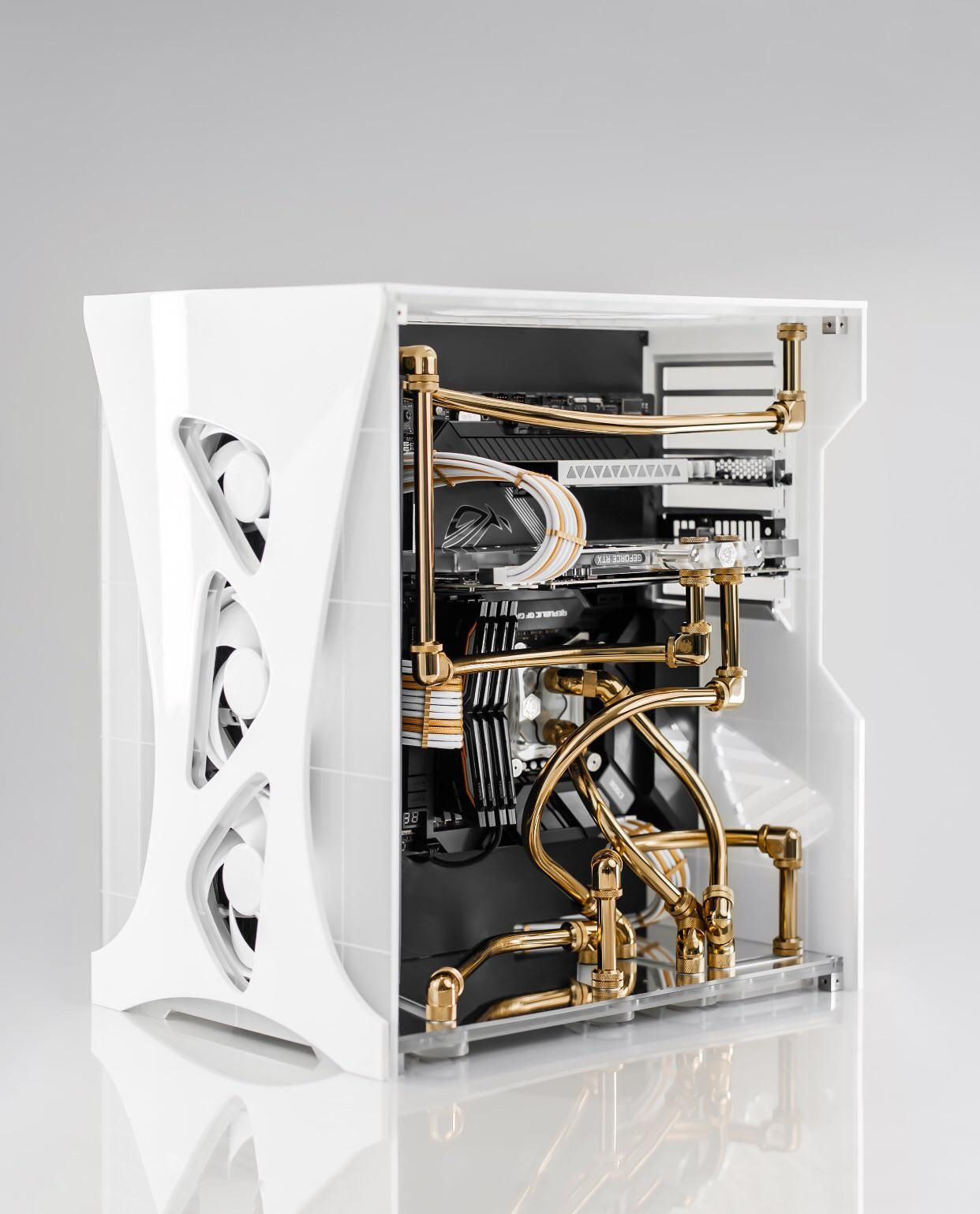 For This Build I Wanted To Run Gold Tubing With Some Bends That