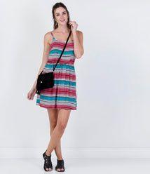 Vestido feminino em renda guipir renner