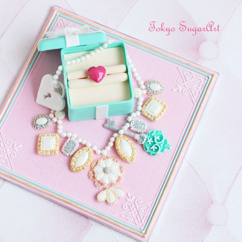 Sugar Art Jewelry Box