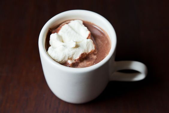 A delicious way to make hot chocolate! If you are on a reduced calorie diet, I would stick with Crio Bru brewing cocoa w/a splash of cream!  #criobru #hotchocolate