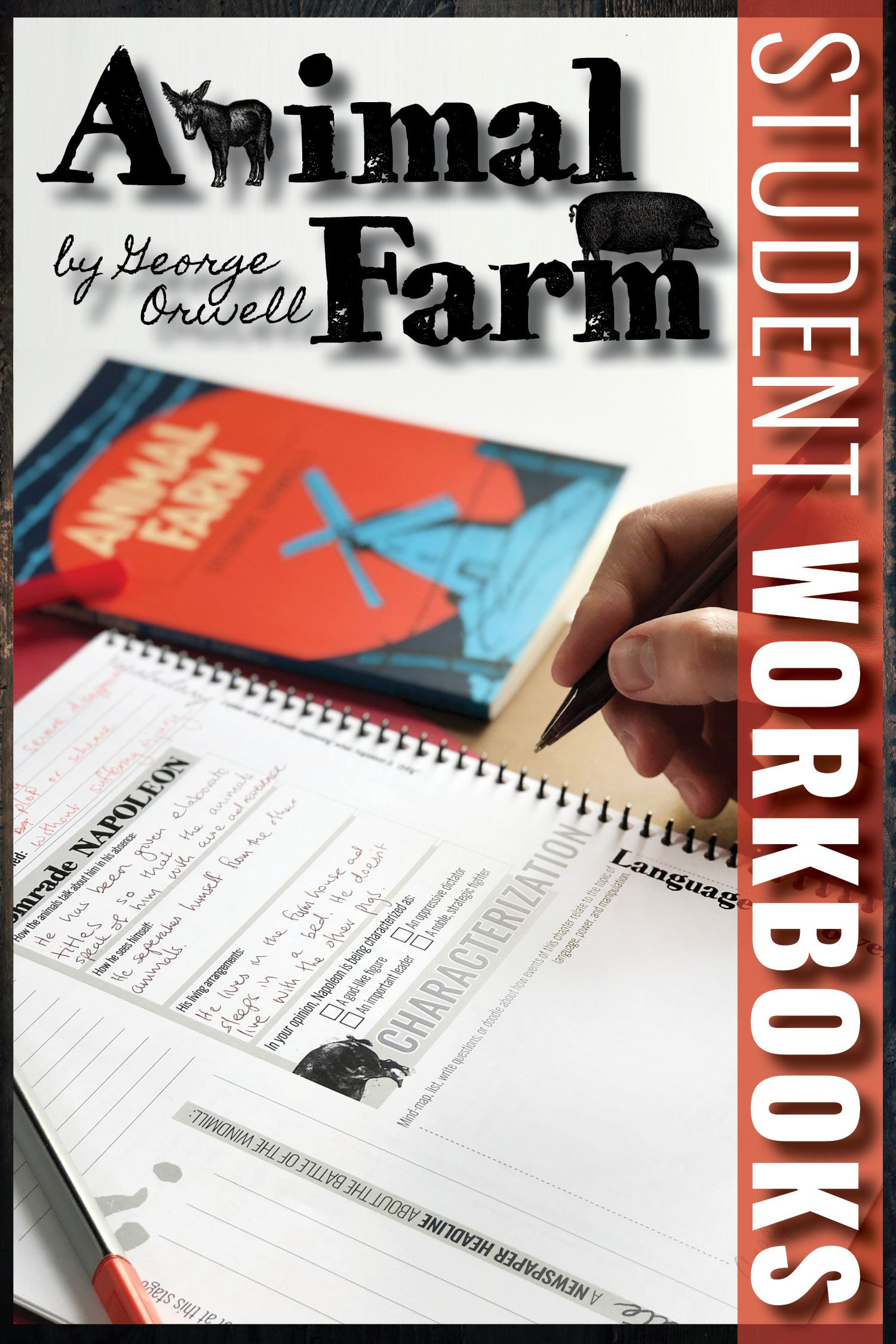 Pin On L Animal farm book worksheets