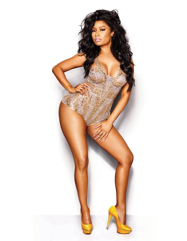 Nicki Minaj in La Bourjoisie at the 2015 MTV Video Music Awards ...