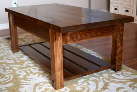 Woodworking For Mere Mortals Simple Coffee Table Coffee Table