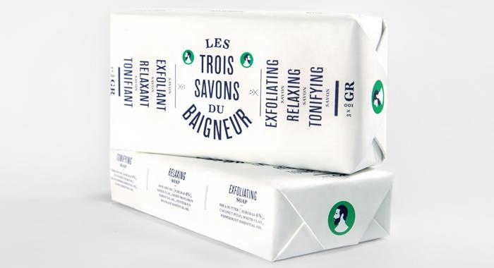 """Pack """"Les Trois Savons du Baigneur"""