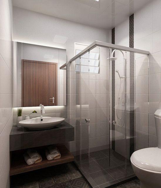 Sliding Shower Screen, Veneer Door, Hdb Bathroom