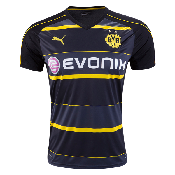 Borussia Dortmund 16 17 Away Soccer Jersey Get Match Ready For The 2016 17 Uefa Champions League Soccer Shirts Soccer Jersey Borussia Dortmund