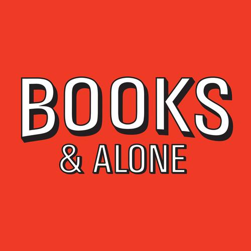 alone, books, and tumblr image