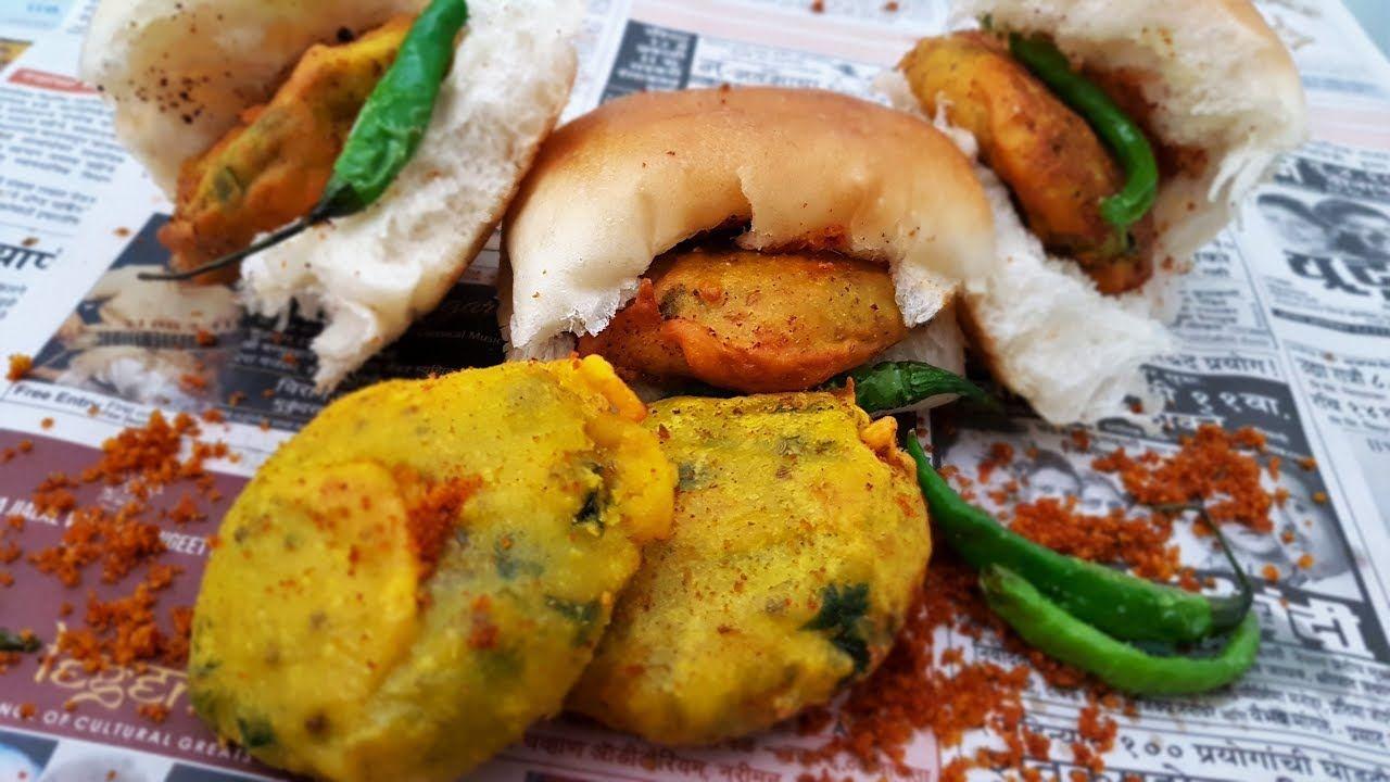 Vada pav authentic street style recipe mumbai street food vada pav authentic street style recipe mumbai street food indian street food forumfinder Images
