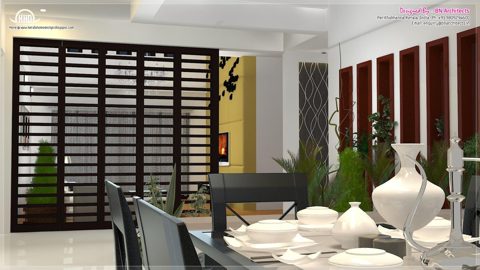 Living Room Interior Design Kerala Pinlife Style365 On Dining