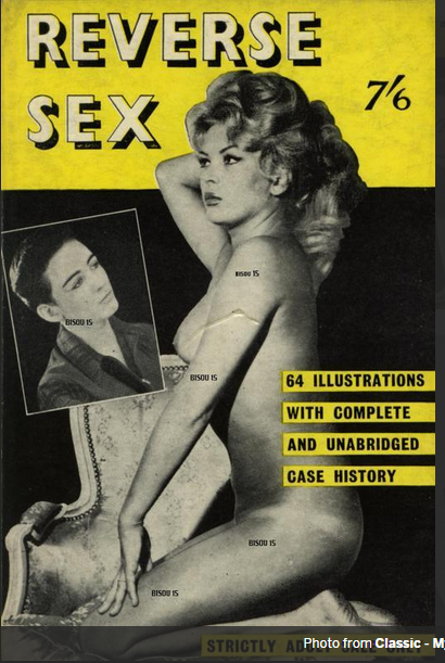 coccinelle on the cover of an old magazine known as a female impersonator and a burlesque. Black Bedroom Furniture Sets. Home Design Ideas