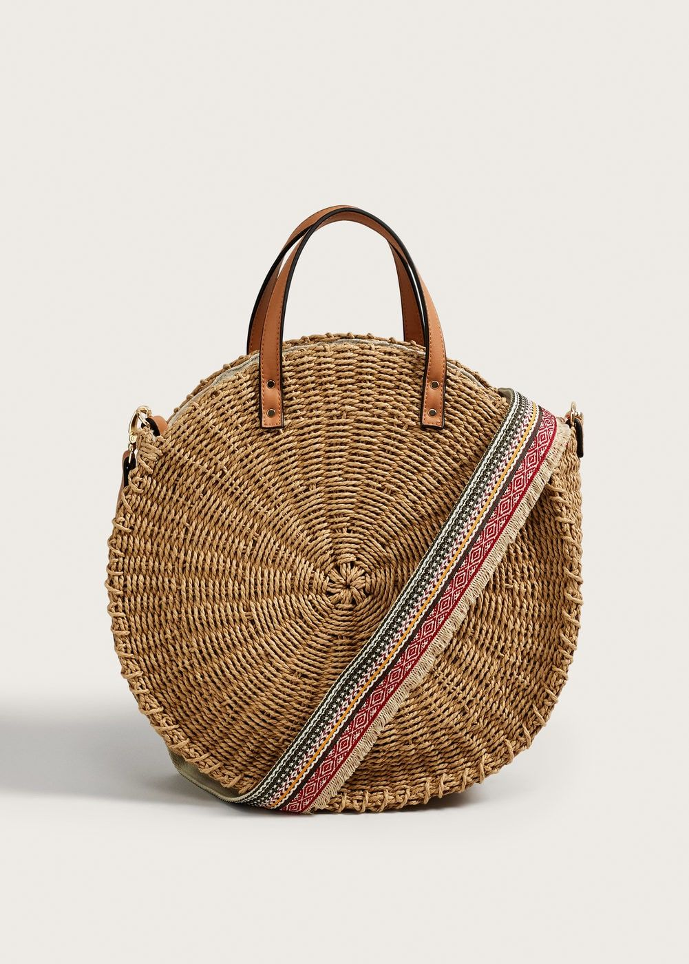 936675ffa21 Round raffia bag - Plus sizes in 2019 | Fashions | Bags, Cloth bags ...