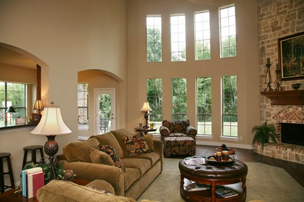 What Would You Do W2 Story Windowsfireplace  Window Living Delectable Living Room W Design Ideas