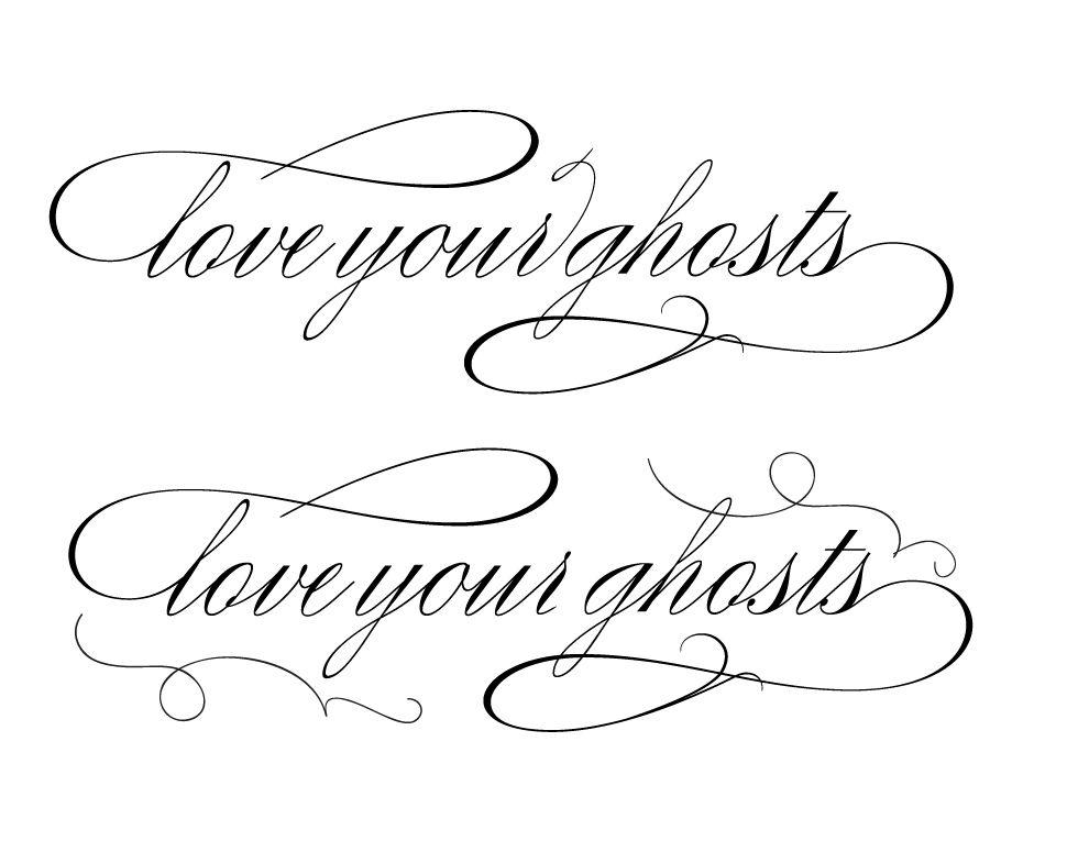pretty tattoo fonts | Tattoos Font 14 | Tattoo font, Best ...