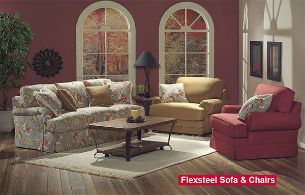Flexsteel Sofa and Chairs