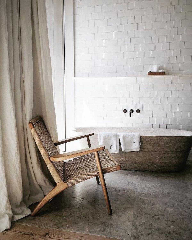 "Beautiful Bathroom Chair Rail Specifics Please: S A M P O T H I E R On Instagram: ""Taking Cues, Bathroom"