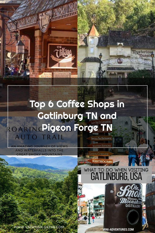 Top 6 Coffee Shops In Gatlinburg Tn And Pigeon Forge Tn In 2020 Gatlinburg Tn Gatlinburg Pigeon Forge Tn
