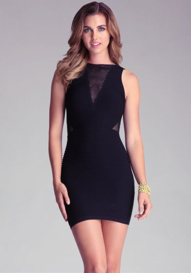 Show off your sexy figure wearing our Deep-V Ottoman Dress featuring a boat  neck bb51f2328