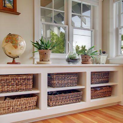 Under Window Storage Home Home Decor Decor