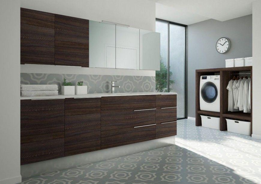 Render arredo bagno lavanderia spazio time per ideagroup virtual