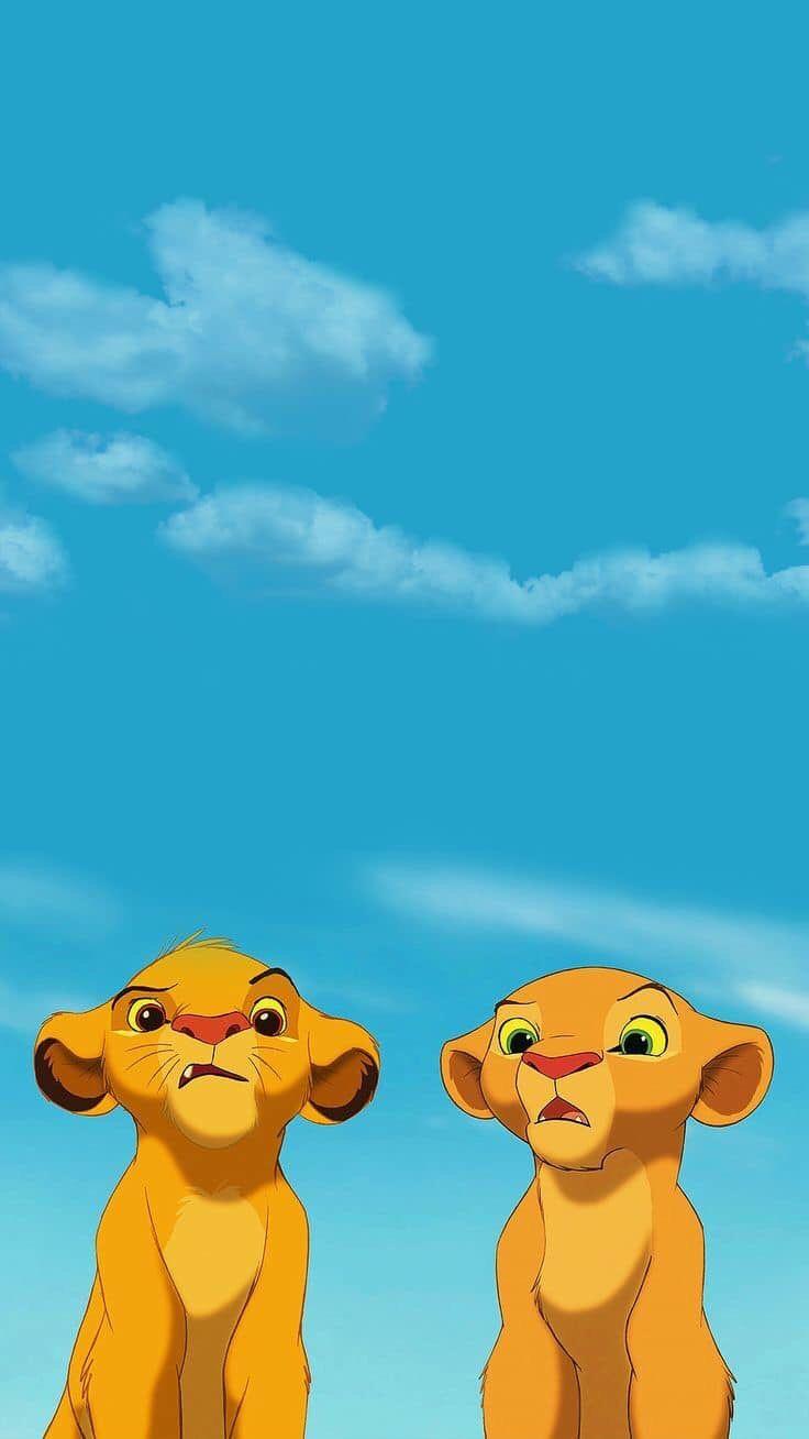 The Lion King Fond D écran Téléphone Disney Mignon Et Art