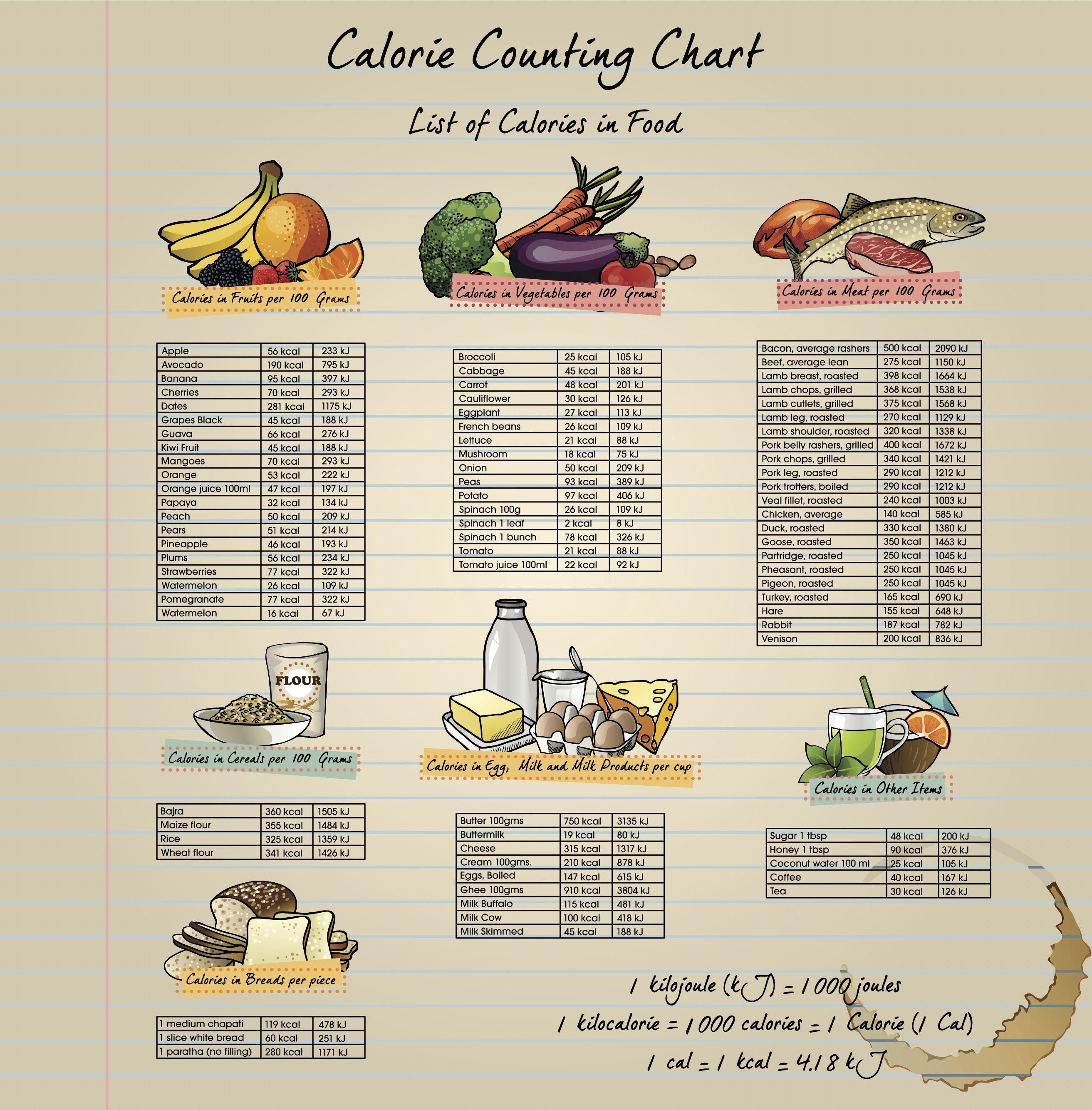 calorie counter chart google search calorie counts healthy