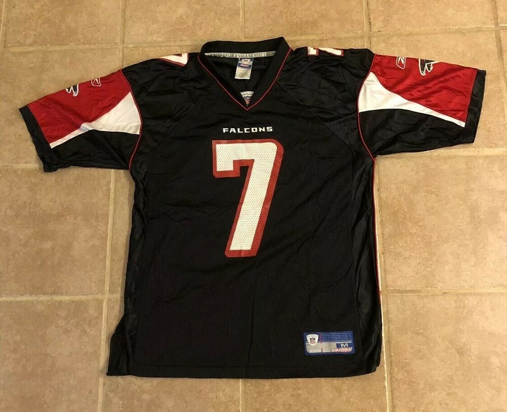 cheap for discount 30fef 685c8 Vintage Mens Reebok Atlanta Falcons Michael Vick  7 Black Red Football  Jersey  fashion  clothing  shoes  accessories  vintage  mensvintageclothing  (ebay ...