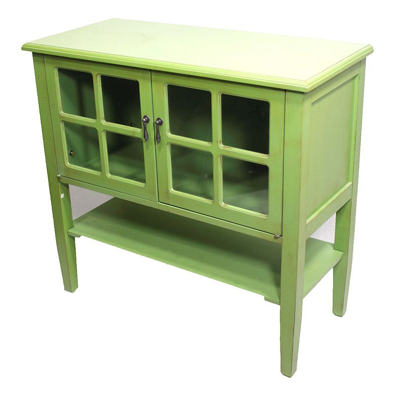 Heather Ann Creations 2 Door Console Cabinet For The Home