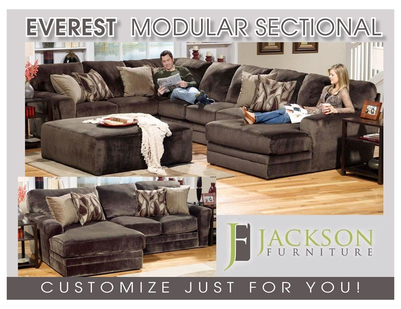 Everest Fully Modular Sectional by Jackson BUILD YOUR PERSONAL