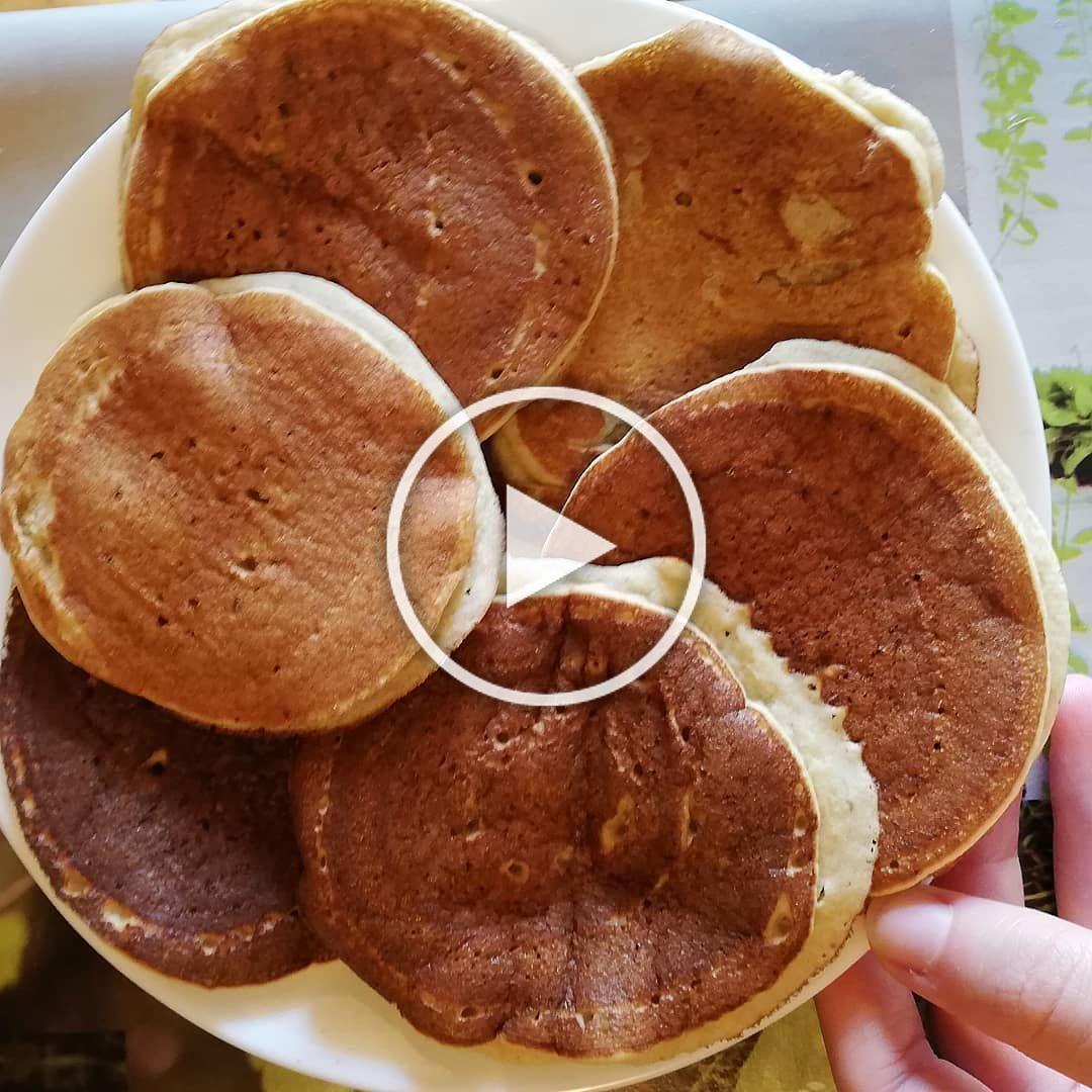 Pancakes alla banana 🥞😍🍌 #senzaglutine e #senzalattosio Sono buoni anche senza topping 😋. . . . . ....