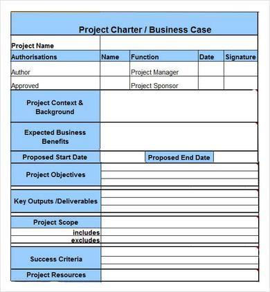 project charter 390 422 pixels project management pinterest project management. Black Bedroom Furniture Sets. Home Design Ideas