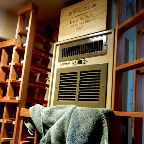 This Was The Original Wine Cellar Cooling Unit Breezaire Which Was