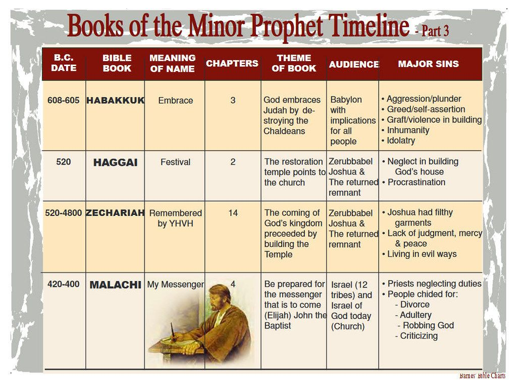 Books Of The Minor Prophets Timeline 3 Bible Meaning Bible Facts Bible Prayers