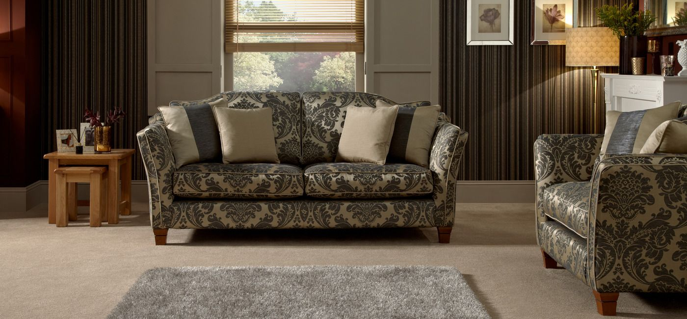 Linea Argyle Large Fixed Sofa Standard Back Knole House Of Fraser Front Rooms