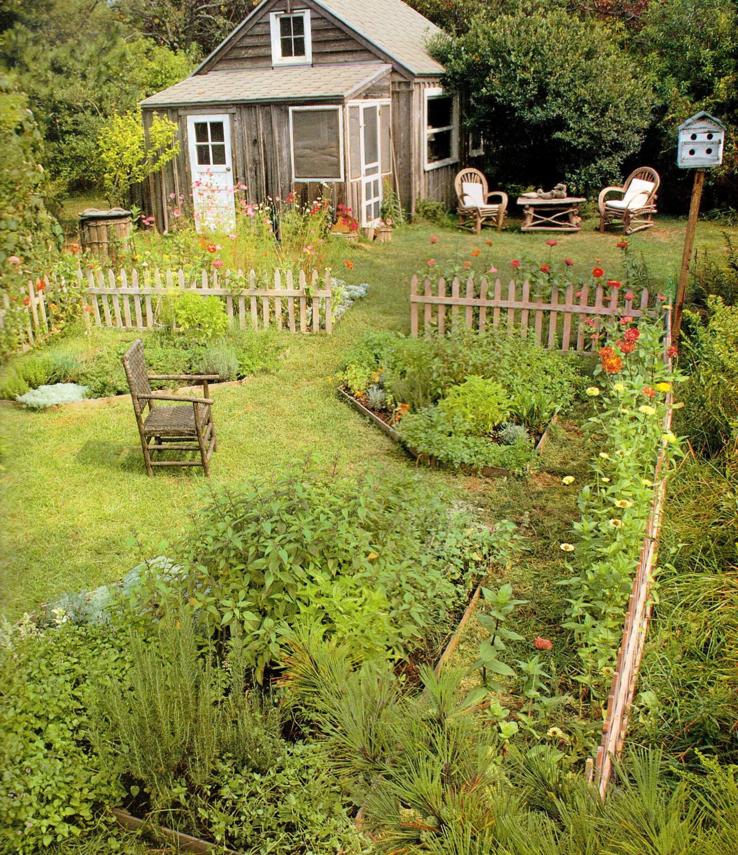 9 Cottage Style Garden Ideas: Beautiful Small Cottage Garden Design Ideas 10