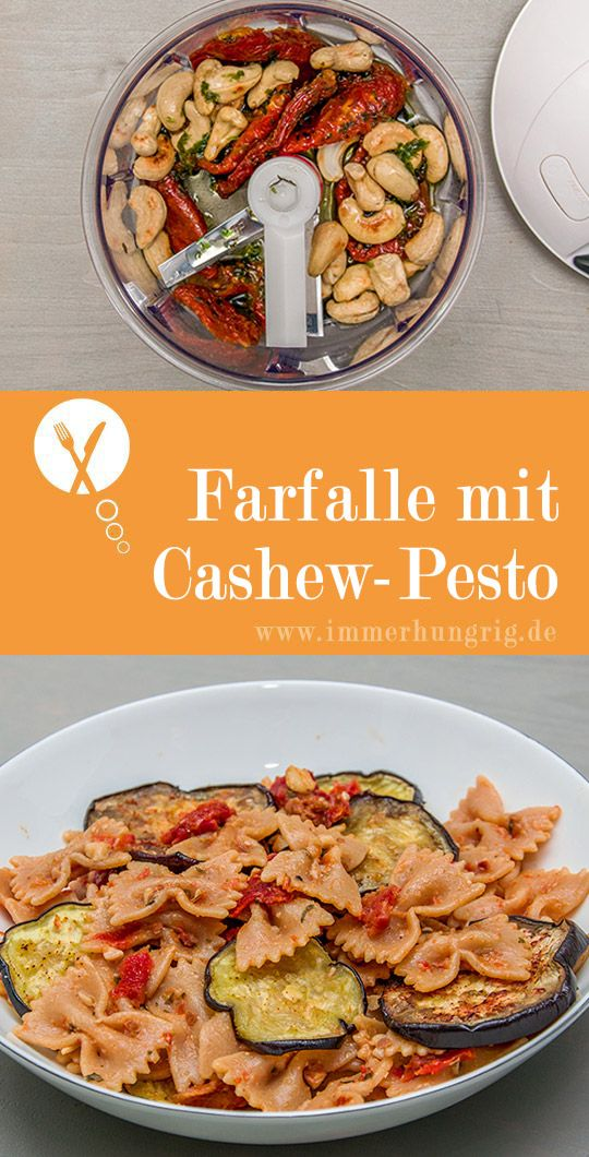 pasta mit aubergine und tomaten cashewpesto rezept rezepte. Black Bedroom Furniture Sets. Home Design Ideas