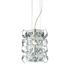 Pendant Lights At Lowes Glamorous Style Selections 8In W Chrome Pendant Light With Textured Shade